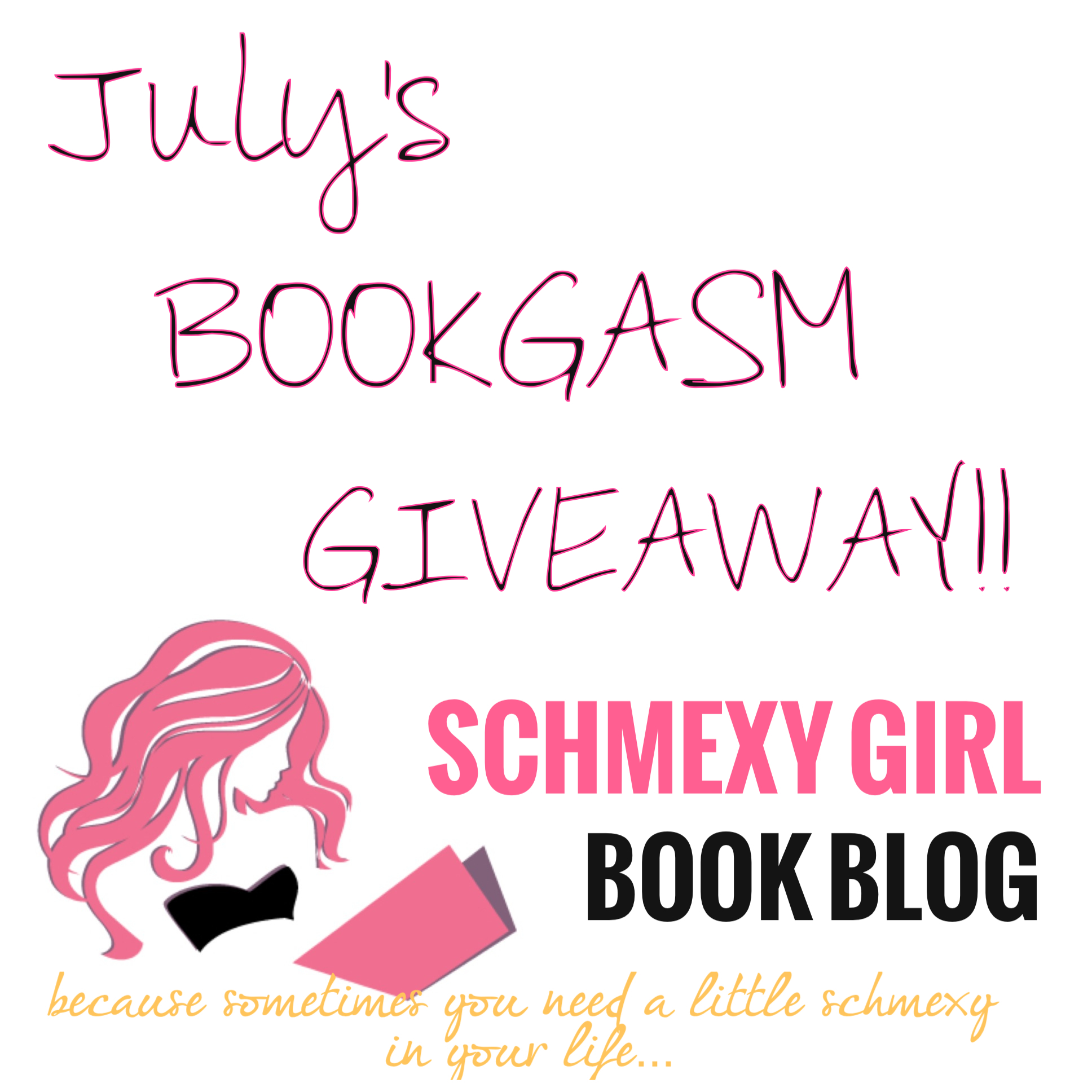 BOOKGASM Giveaway… Schmexy Style!