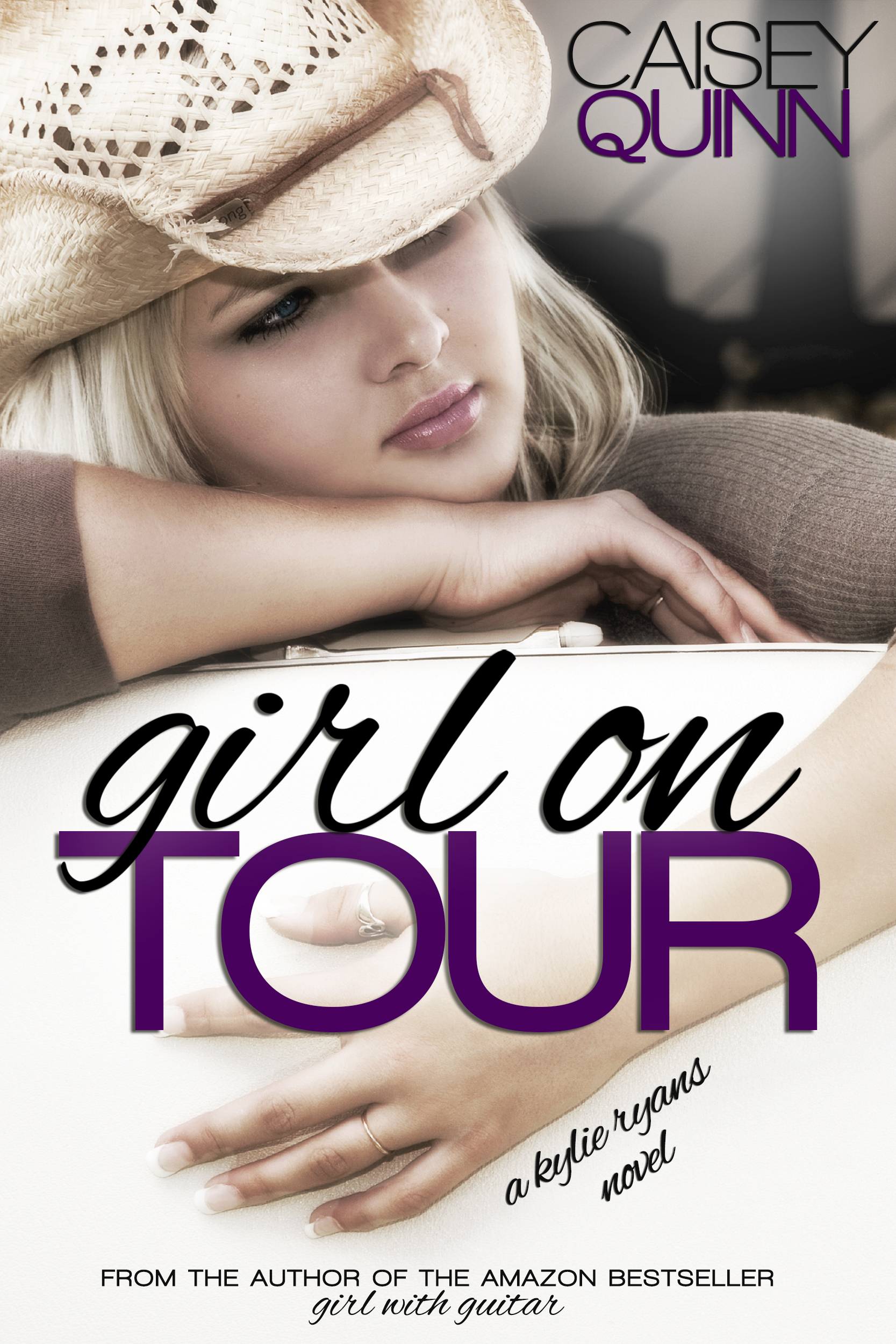 Cover Reveal: Girl on Tour by Caisey Quinn