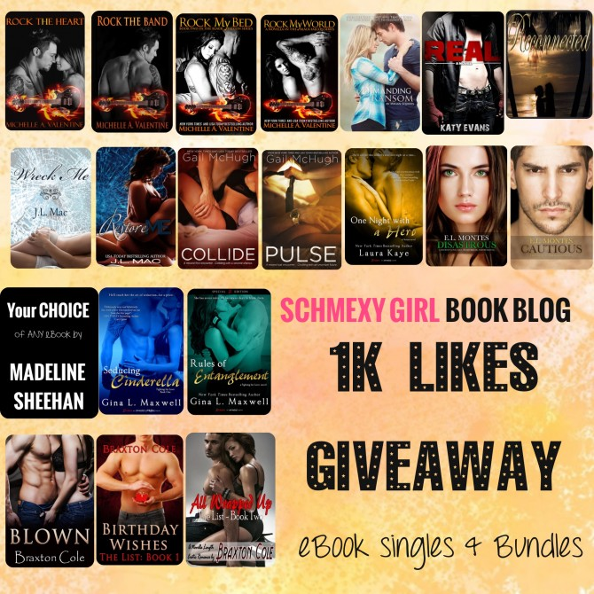 Schmexy Girl Book Blog ebook Giveaway