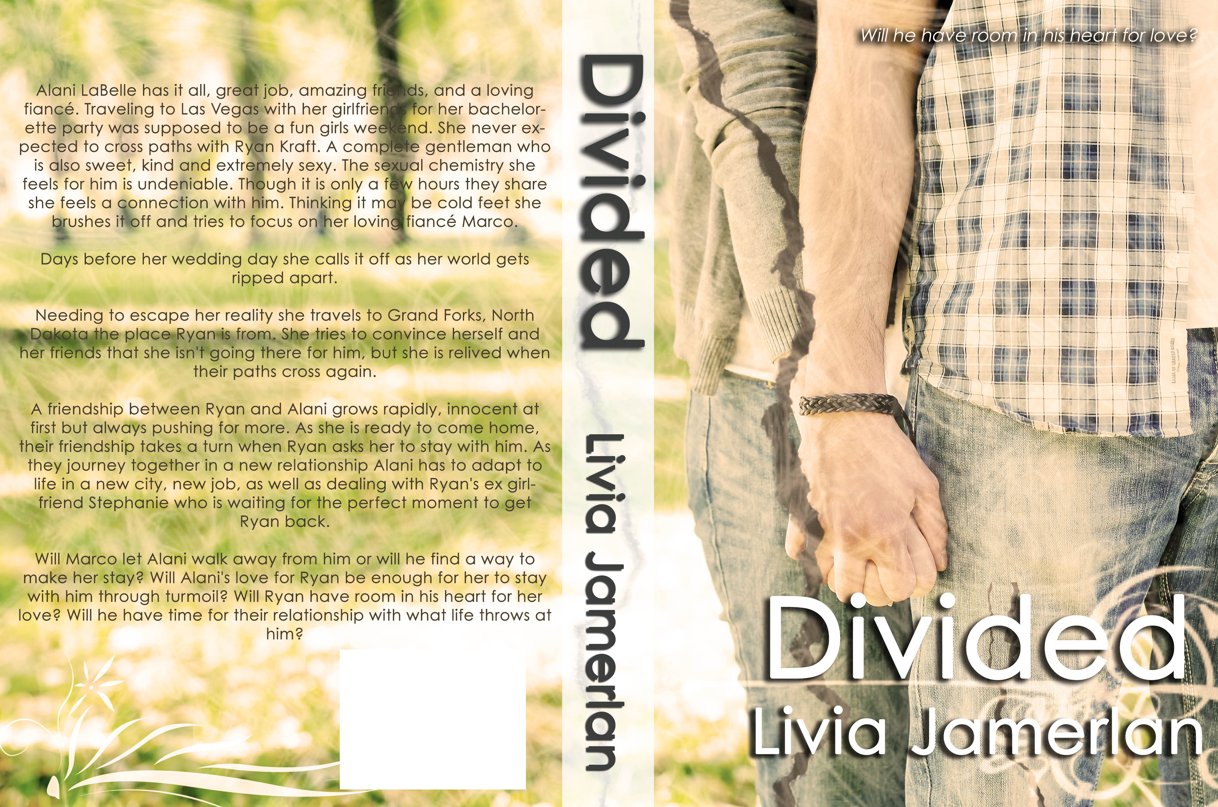Cover Reveal: Divided by Livia Jamerlan