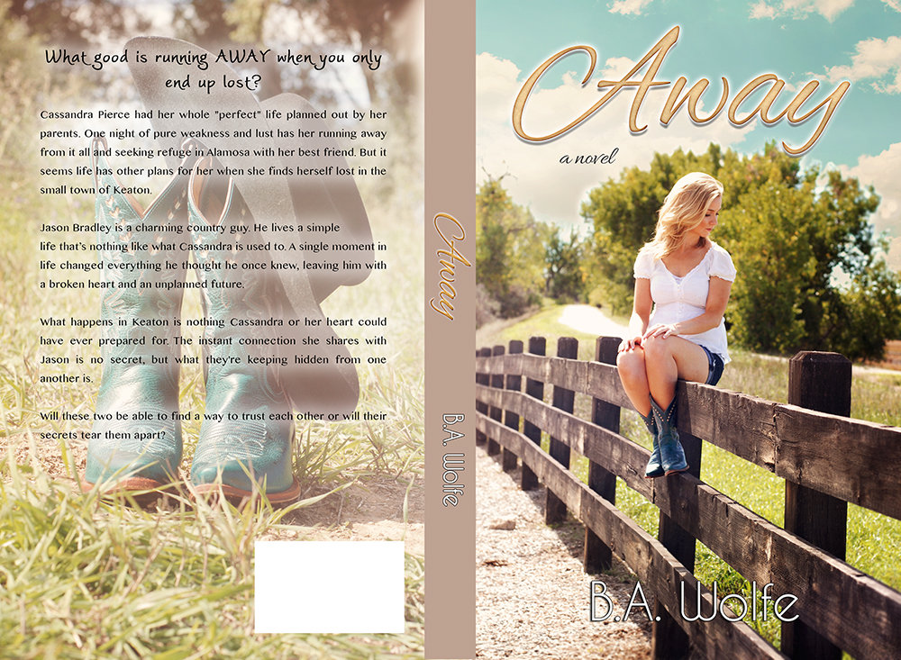Cover Reveal & Giveaway: Away by B.A. Wolfe