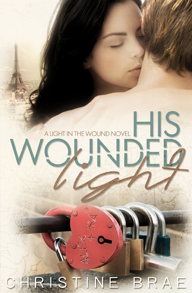Cover Reveal – His Wounded Light by Christine Brae