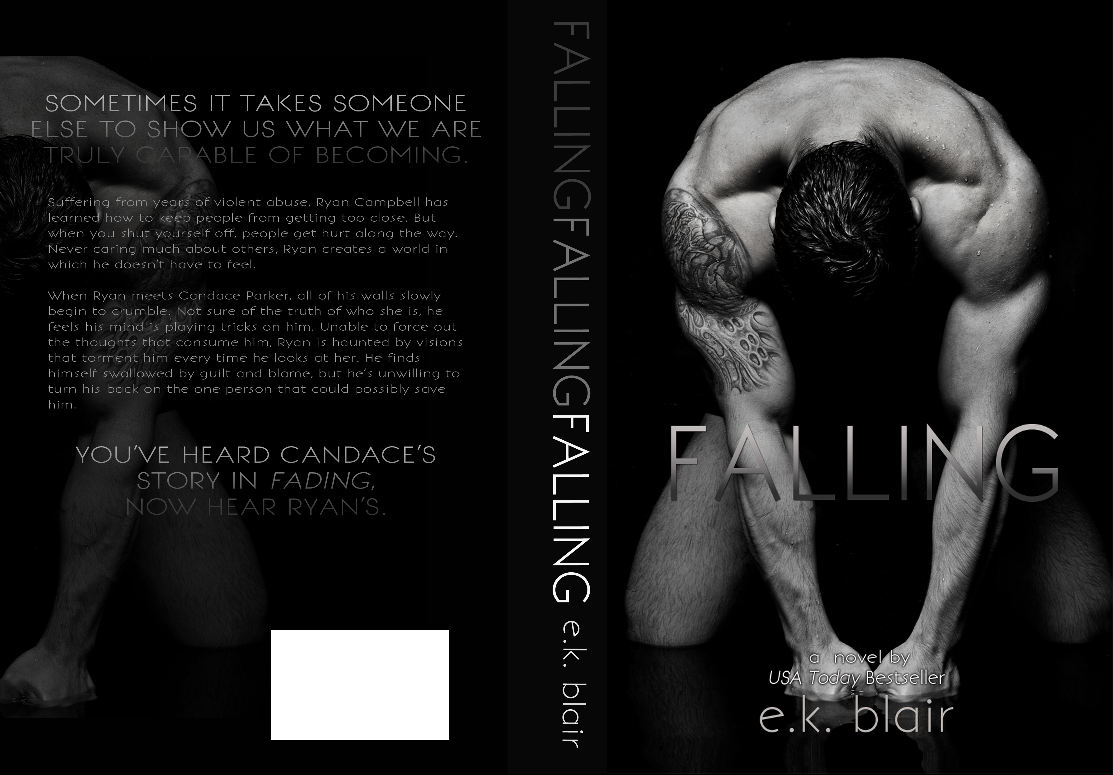 Cover Reveal: Falling by E.K. Blair