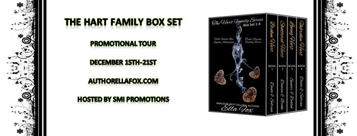The Hart Family Series Box Set by Ella Fox – Promo, Giveaway and more…