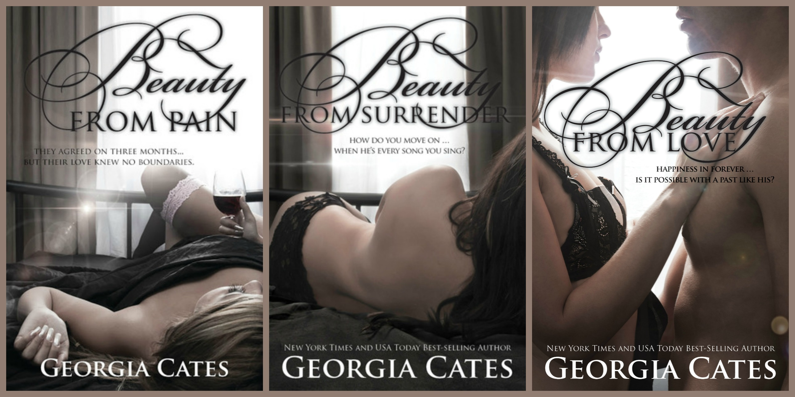 Release Blitz and Giveaway – Beauty from Love by Georgia Cates