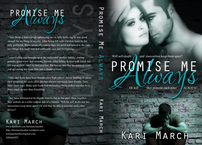 Promise Me Always Kari March Cover