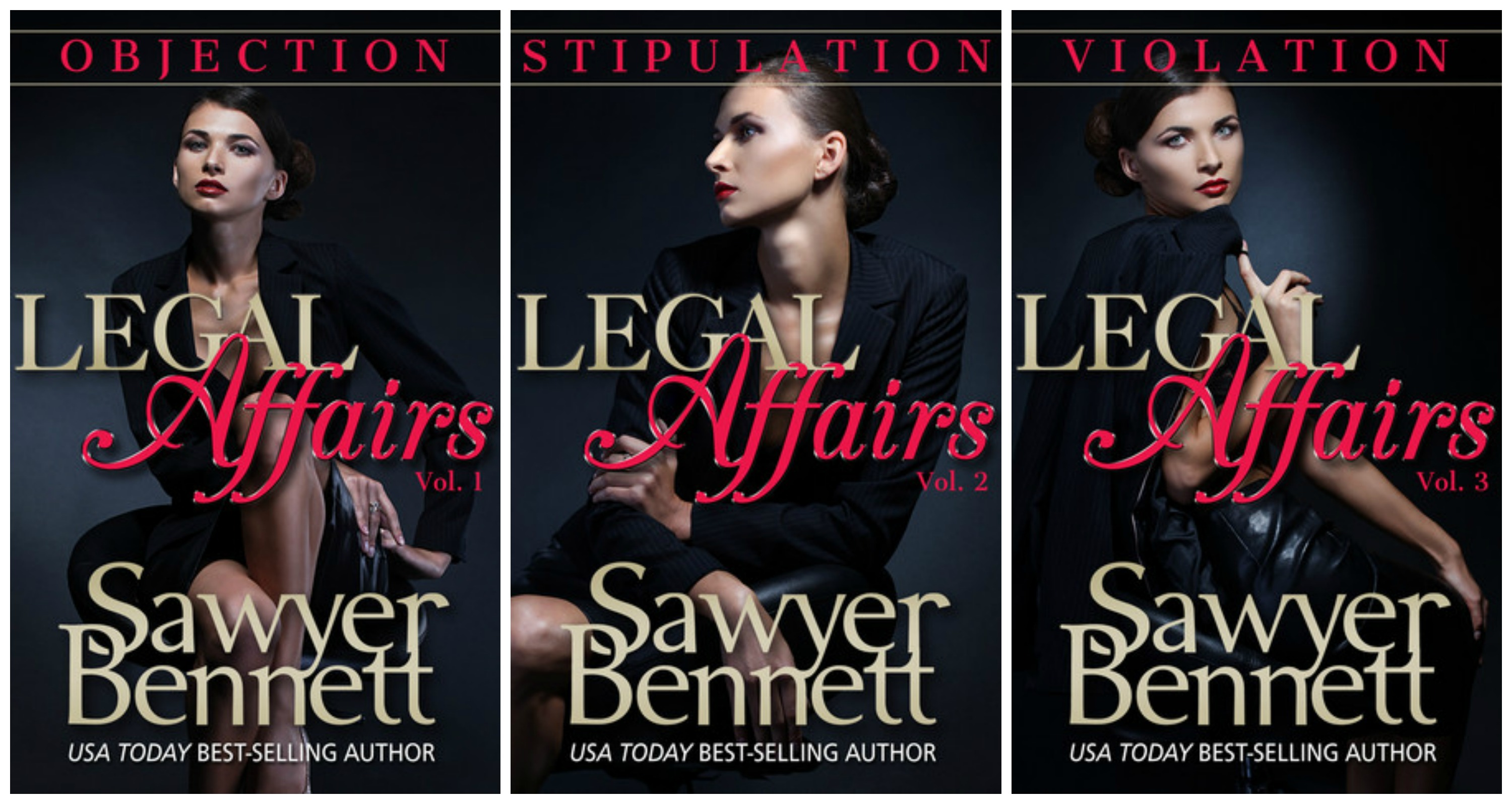 Legal Affairs 1-3 Covers