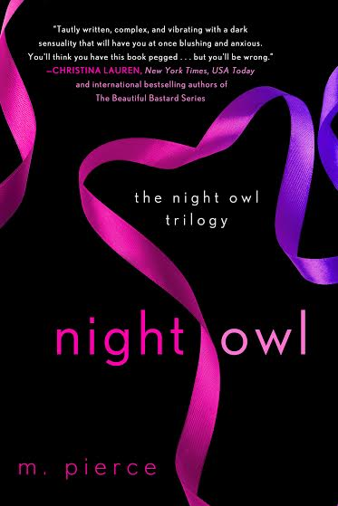 Cover Re-Reveal & Giveaway:  Night Owl by M. Pierce