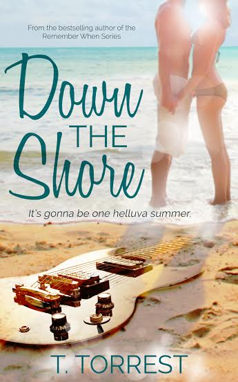 Cover Reveal – Down the Shore – T. Torrest