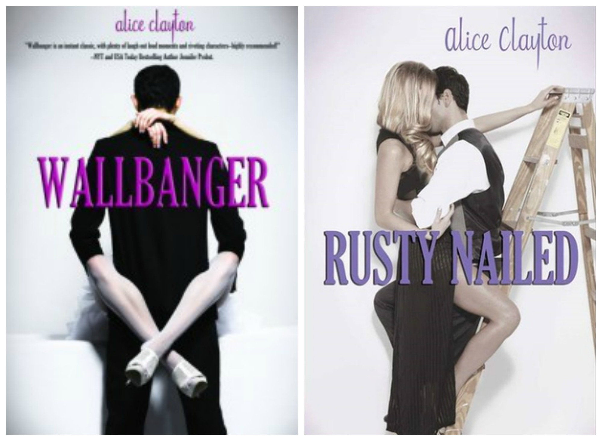 Blog Tour Review & Giveaway- Rusty Nailed by Alice Clayton