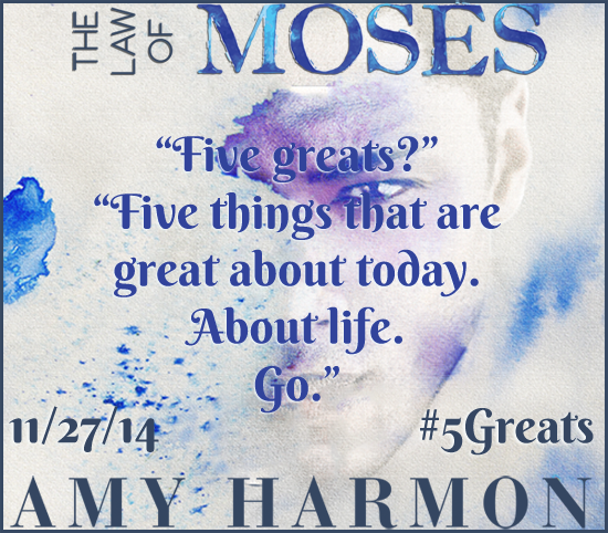 The Law of Moses Teaser for cover reveal