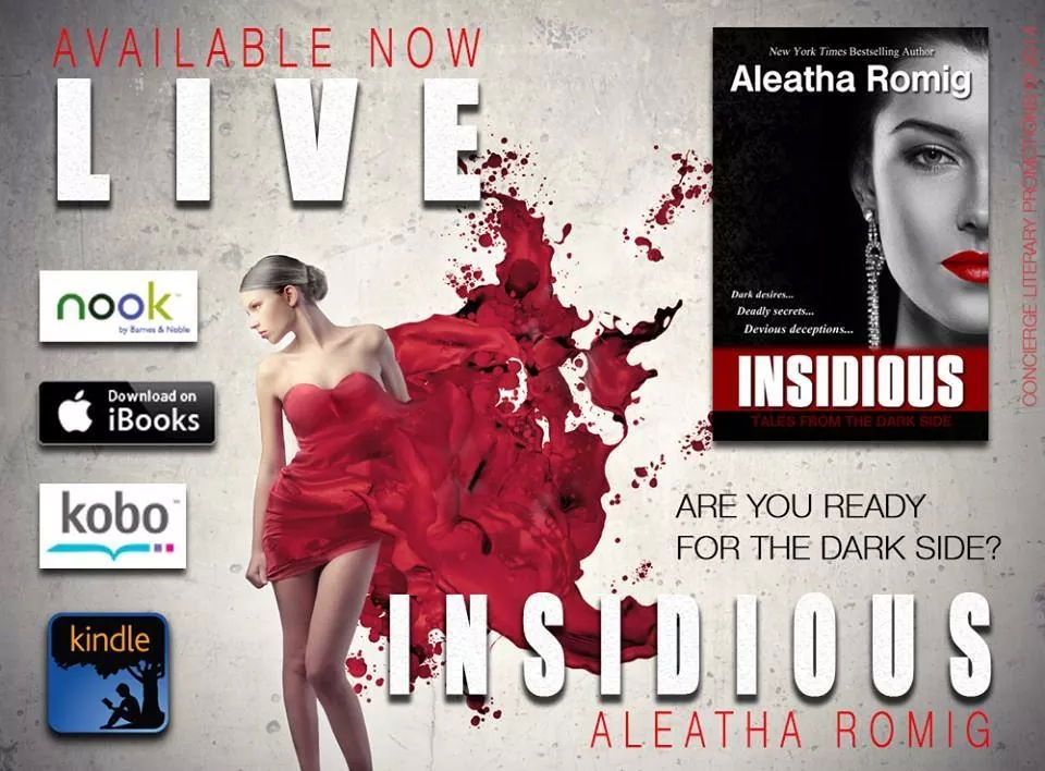 Release Day & GIVEAWAY – INSIDIOUS BY Aleatha Romig