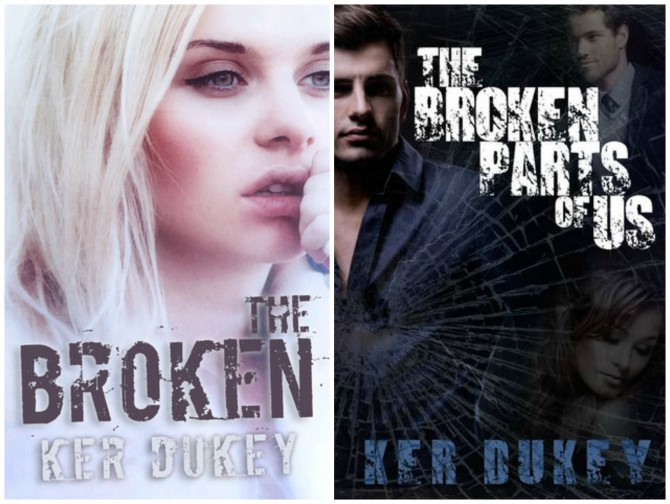 The Broken Series Covers