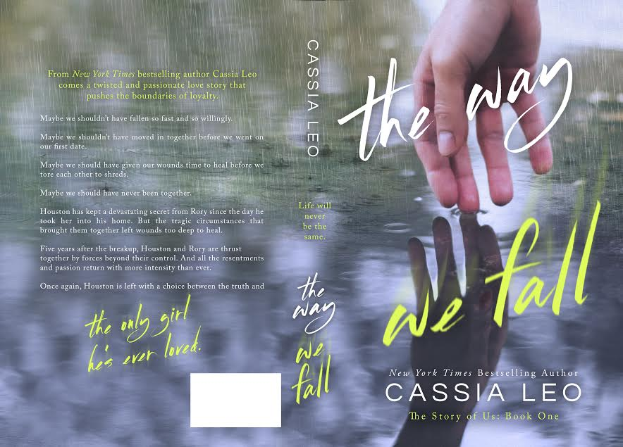 Cover Reveal, Excerpt & Giveaway – THE WAY WE FALL – Cassia Leo