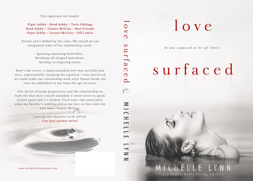 Cover Reveal – LOVE SURFACED – Michelle Lynn