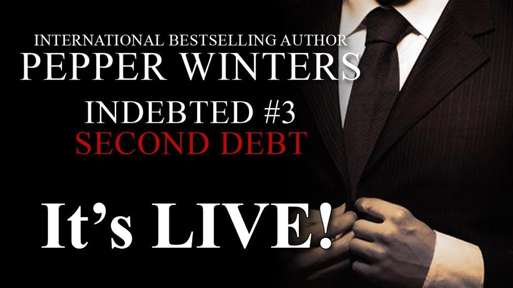 Blog Tour, Excerpt & Giveaway – Second Debt by Pepper Winters