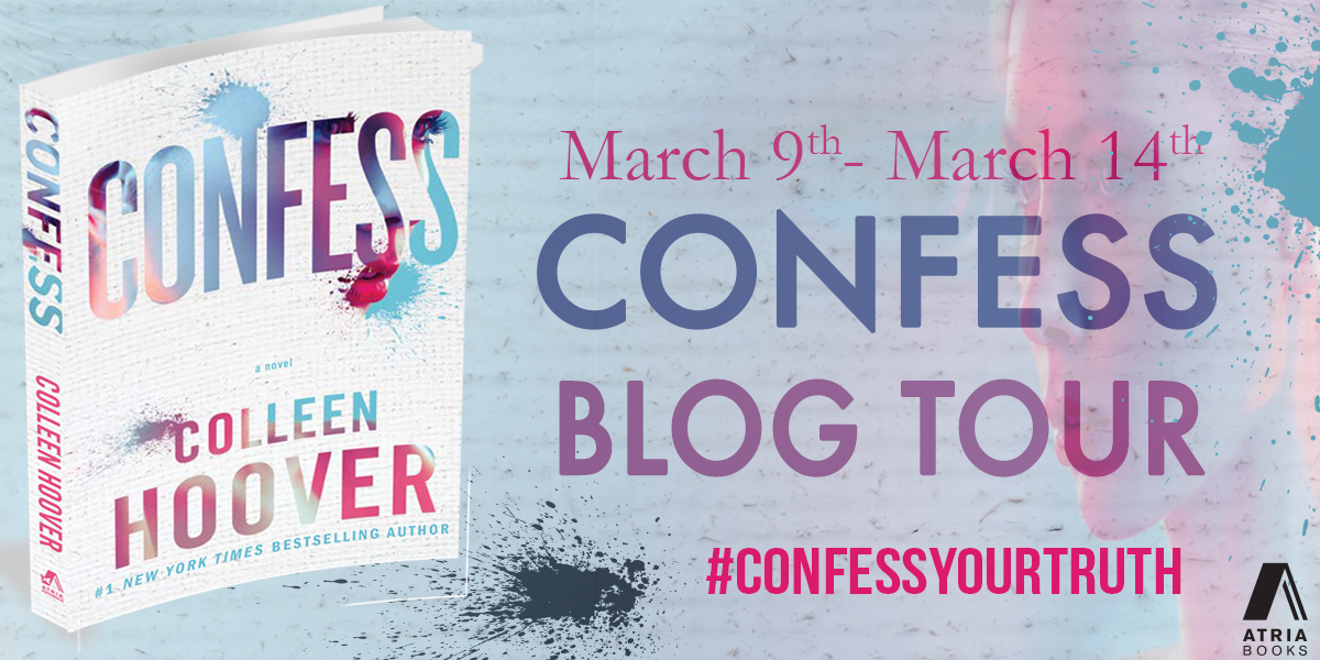 Blog Tour, Review & Giveaway  – CONFESS – Colleen Hoover
