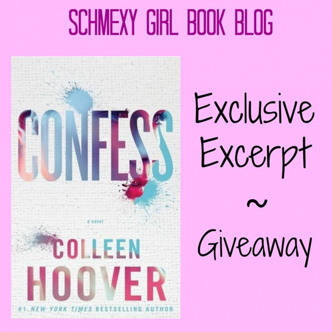 Confess giveaway