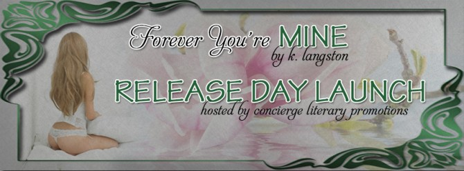 K. Langston's FYM Release Day Launch Banner