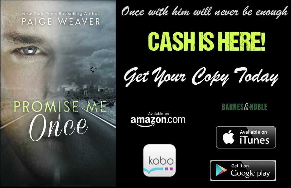 Release Day Blitz – PROMISE ME ONCE – Paige Weaver
