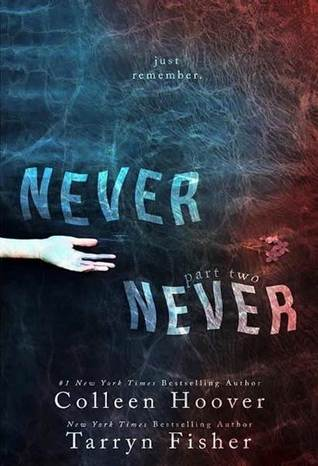 Blog Tour, Review, Trailer & Giveaway – NEVER NEVER PART 2 by Tarryn Fisher & Colleen Hoover