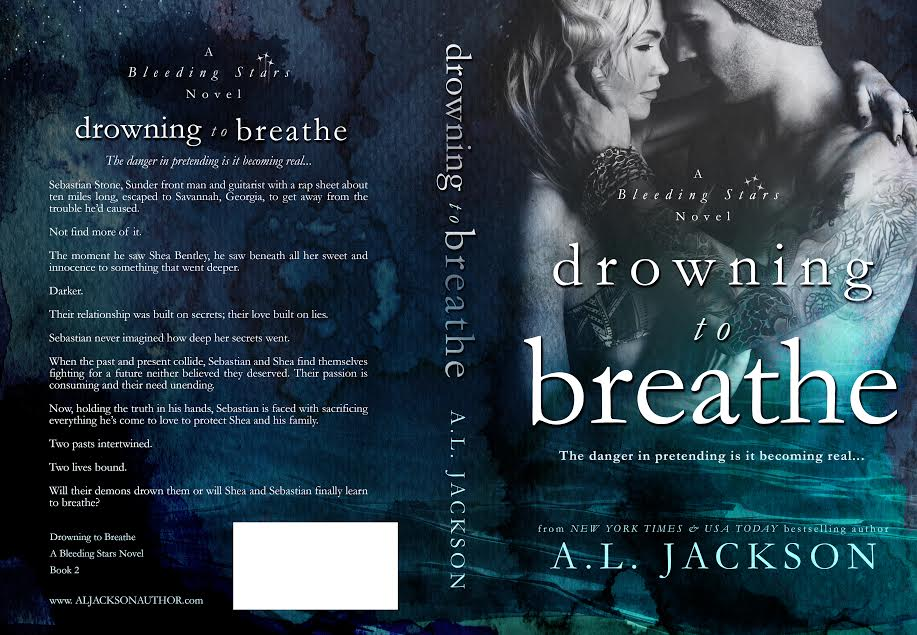 Cover Reveal & Giveaway – DROWNING TO BREATHE – A.L. Jackson