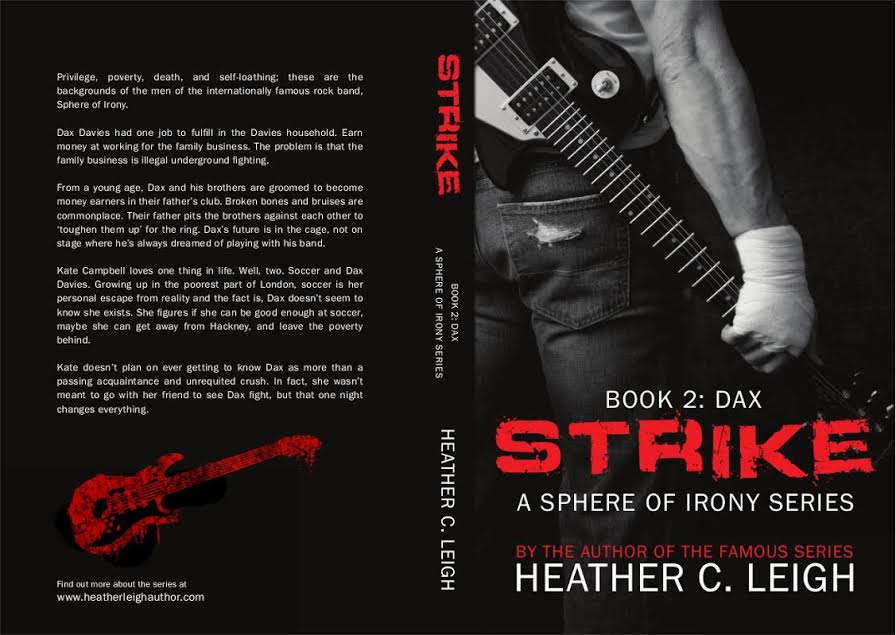 Cover Reveal & Excerpt- STRIKE – Heather C  Leigh