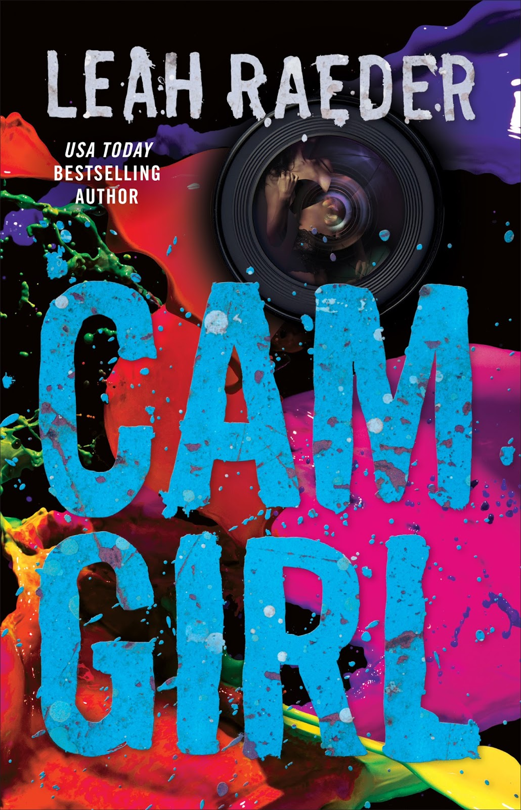 Cover Reveal – Cam Girl by Leah Raeder