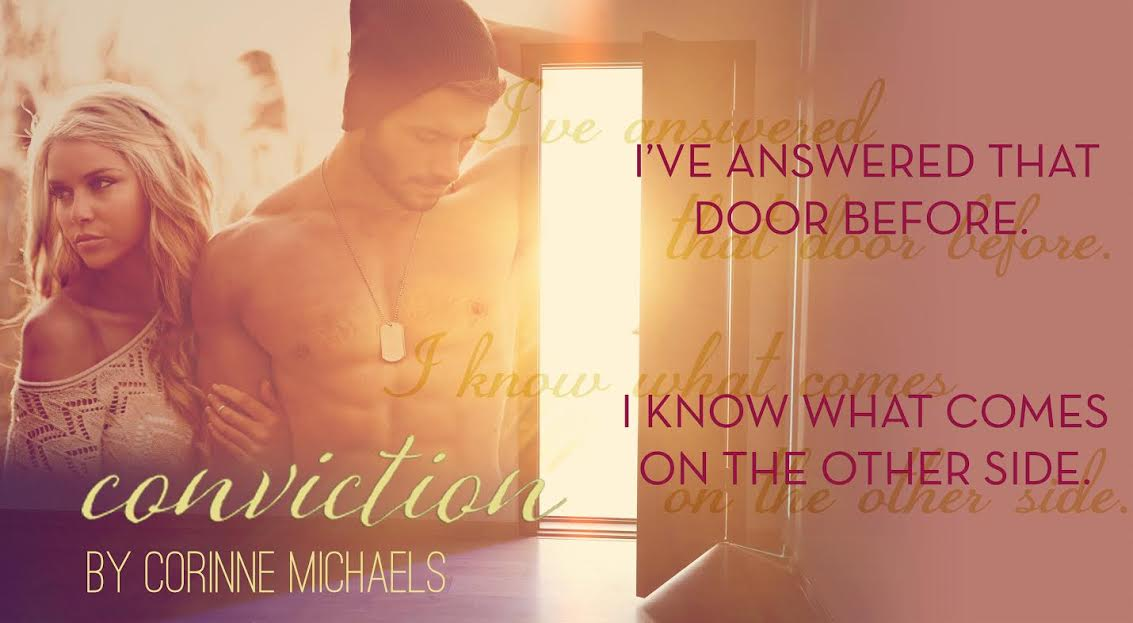 Release Blitz, Excerpt & Giveaway – Conviction by Corinne Michaels
