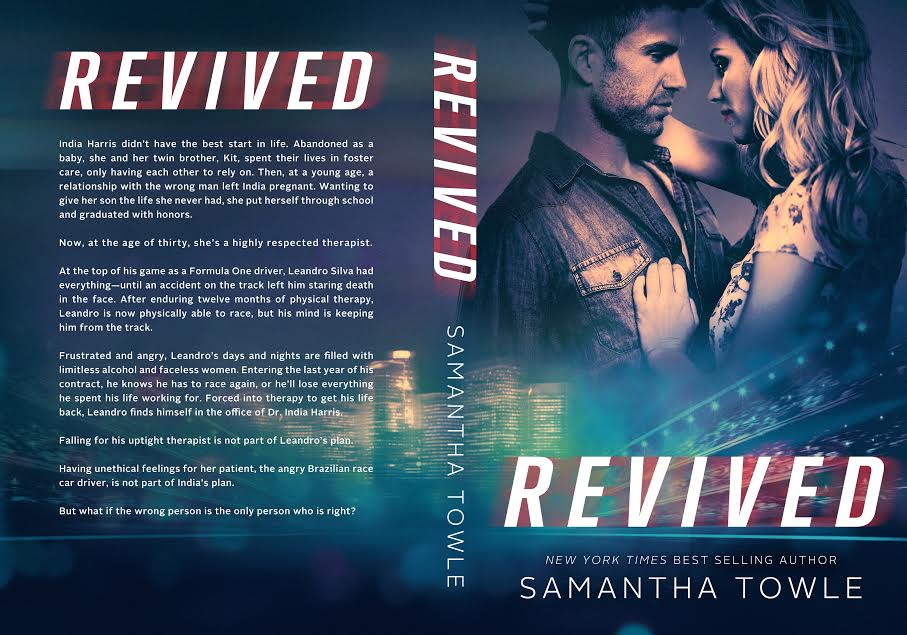 Cover Reveal & Excerpt – REVIVED by Samantha Towle
