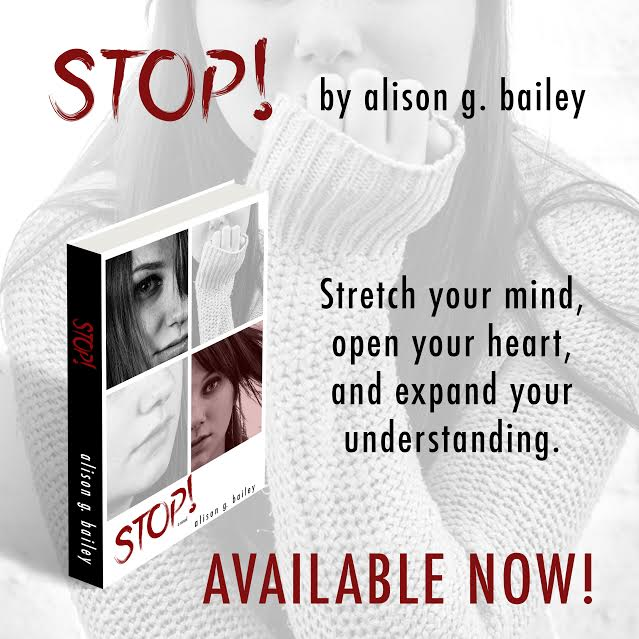 Release Day Blitz, Review, Excerpt, Giveaway & Playlist – STOP by Alison G. Bailey