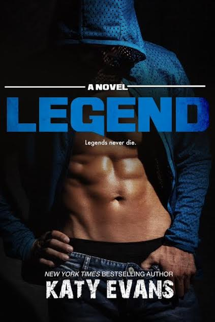 Cover Reveal – LEGEND by Katy Evans