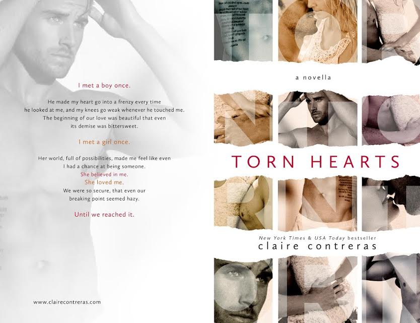 Release Blits – TORN HEARTS by Claire Contreras