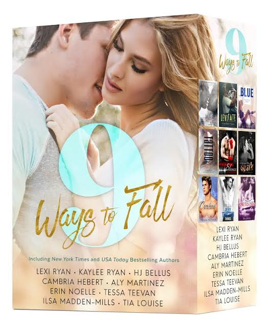Cover Reveal and Preorder – 9 WAYS TO FALL by by Lexi Ryan, Kaylee Ryan, H.J. Bellus, Cambria Hebert, Aly Martinez, Erin Noelle, Tessa Teevan, Ilsa Madden-Mills & Tia Louise