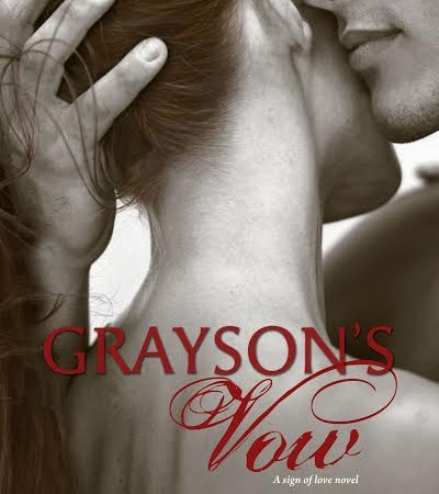 Cover Reveal – GRAYSON'S VOW by Mia Sheridan