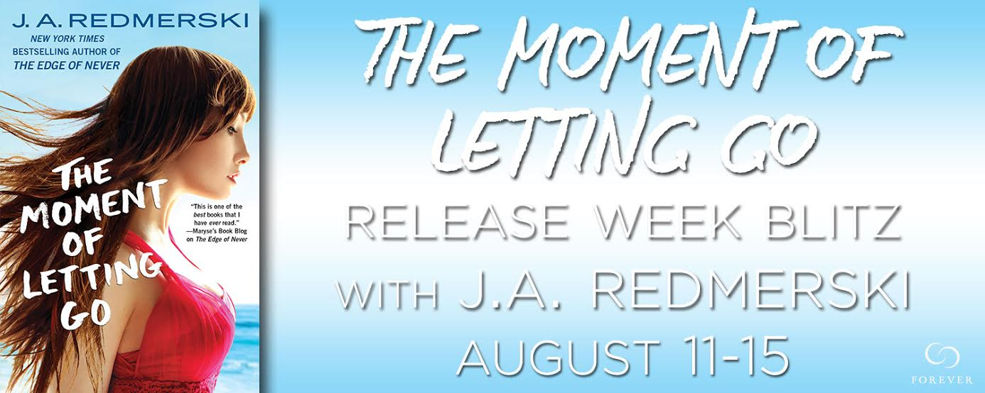 Release Blitz, Review, Excerpt & Giveaway – THE MOMENT OF LETTING GO by J.A. Redmerski