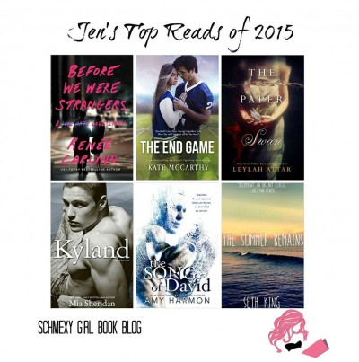 Jen's Top Reads graphic