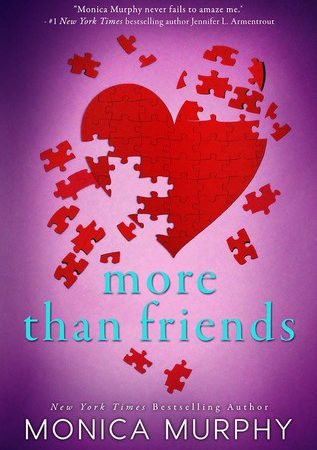 Review – MORE THAN FRIENDS by Monica Murphy
