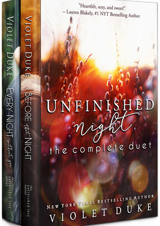 Review – Unfinished Night (The Complete Duet) by Violet Duke