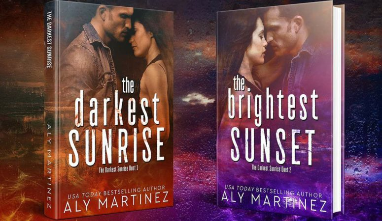 Double Review – THE DARKEST SUNRISE & THE BRIGHTEST SUNSET by Aly Martinez