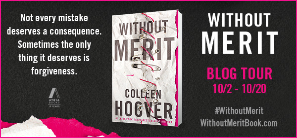 Blog Tour & Giveaway – WITHOUT MERIT by Colleen Hoover