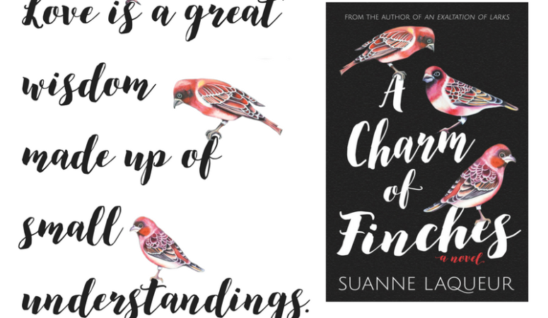 Review – A CHARM OF FINCHES (Venery Book 2) by Suanne Laqueur